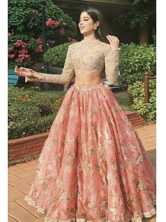 New Designer Party Wear Organza Net  With Embroidery Work Lehenga Choli  MDL1704