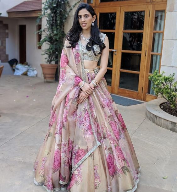 Awesome Designer Party Wear Taffeta Silk With Embroidery Work Lehenga Choli  MDL1707
