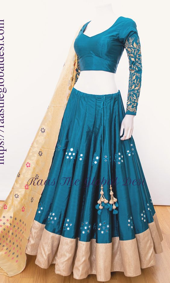 Fabulous Collection Of Designer Party Wear Taffeta Silk With Embroidery Work Lehenga Choli  MDL1765