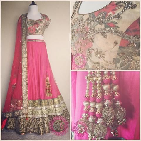 Exquisite Collection Of Designer Party Wear Taffeta With Embroidery Work Lehenga Choli  MDL1792