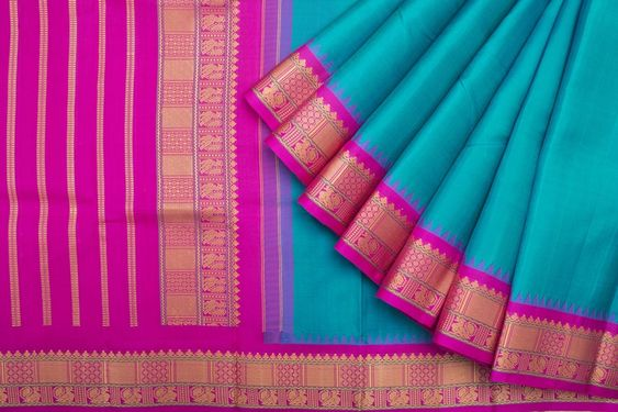 New Collection Of Designer Maheshwari Silk Saree MH9011