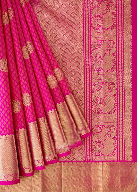 New Collection Of Designer Maheshwari Silk Saree MH9013