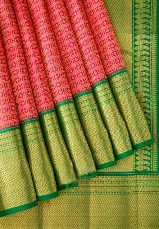 New Collection Of Designer Maheshwari Silk Saree MH9038
