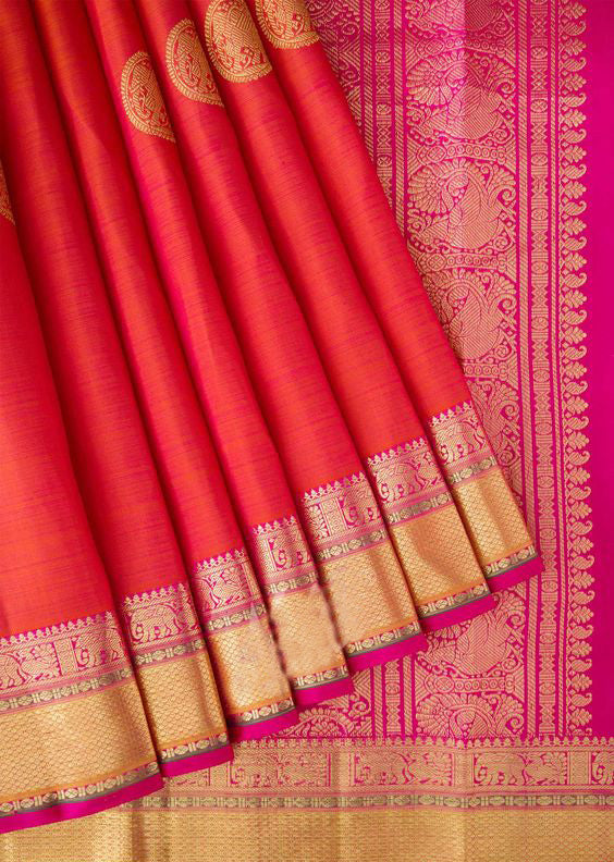 New Collection Of Designer Maheshwari Silk Saree MH9039