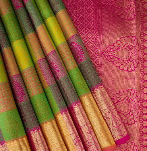 New Collection Of Designer Maheshwari Silk Saree MH9044