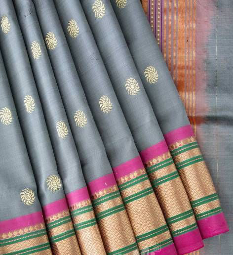 New Collection Of Designer Maheshwari Silk Saree MH9047