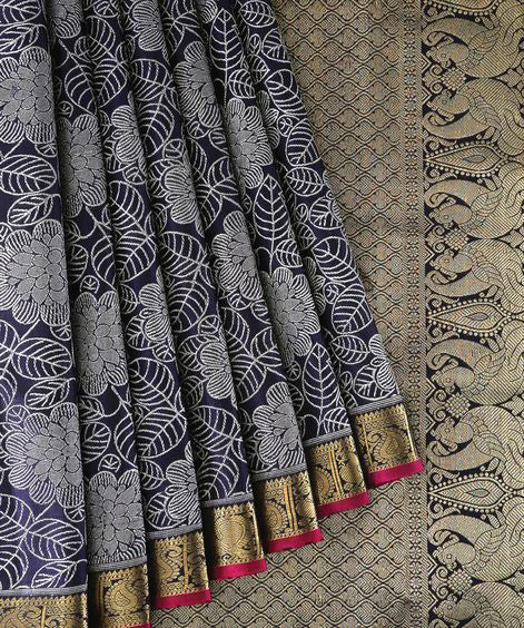 New Collection Of Designer Maheshwari Silk Saree MH9066