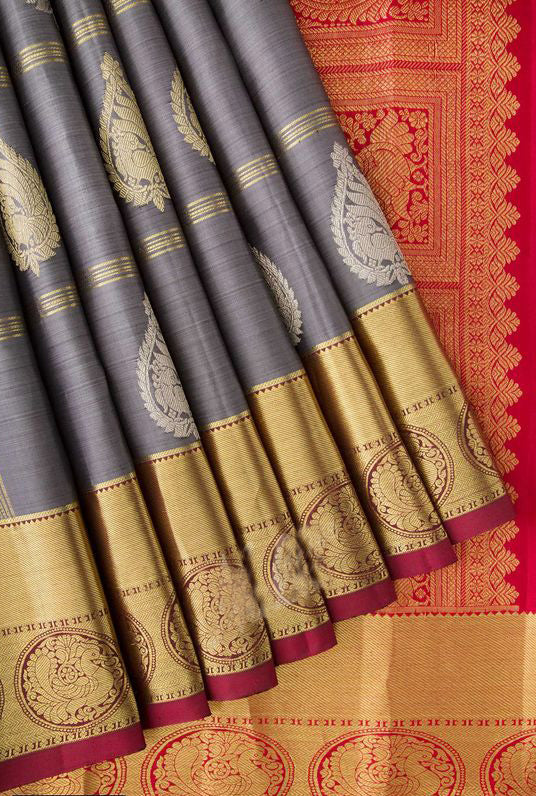 New Collection Of Designer Maheshwari Silk Saree MH9070