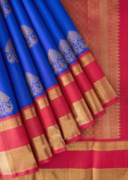 New Collection Of Designer Maheshwari Silk Saree MH9073