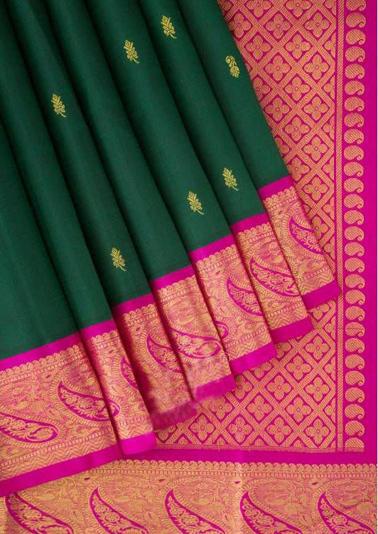 New Collection Of Designer Maheshwari Silk Saree MH9078