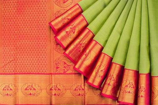 New Designer Latest Collection Of Raw Silk  Saree RS3027