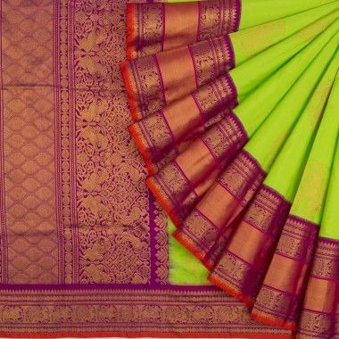 New Designer Latest Collection Of Raw Silk  Saree RS3042