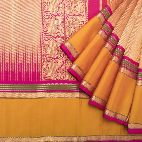 New Designer Latest Collection Of Raw Silk  Saree RS3049
