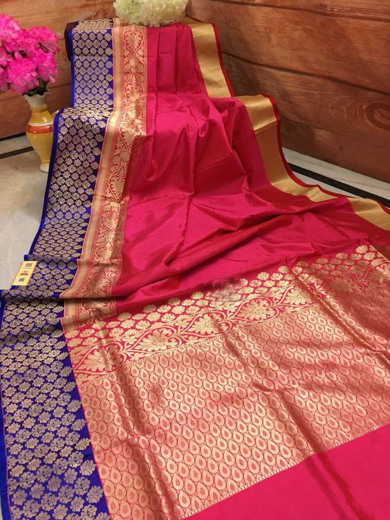 Best Collection Of Designer Soft Silk Saree SS8001