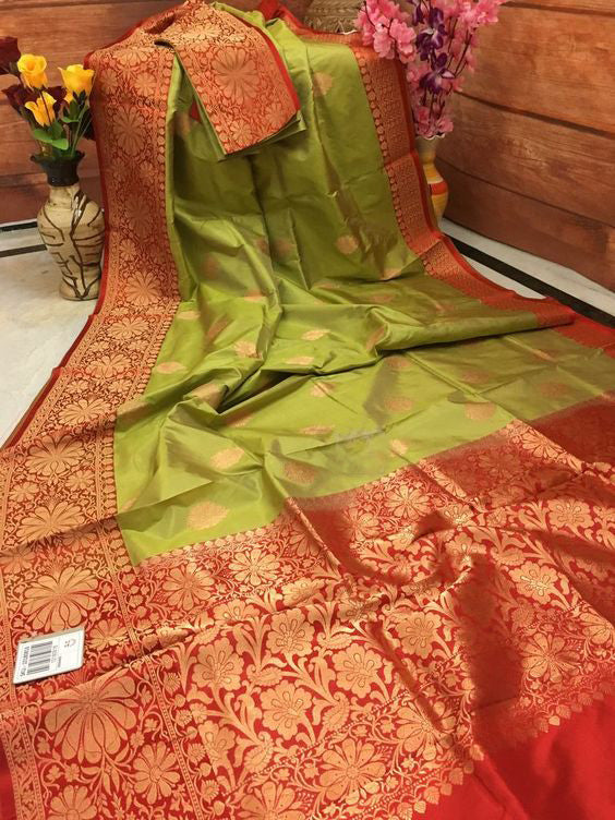 New  Best Collection Of Designer Soft Silk Saree SS8004