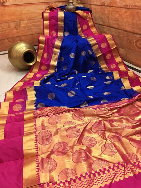 New  Best Collection Of Designer Soft Silk Saree SS8011