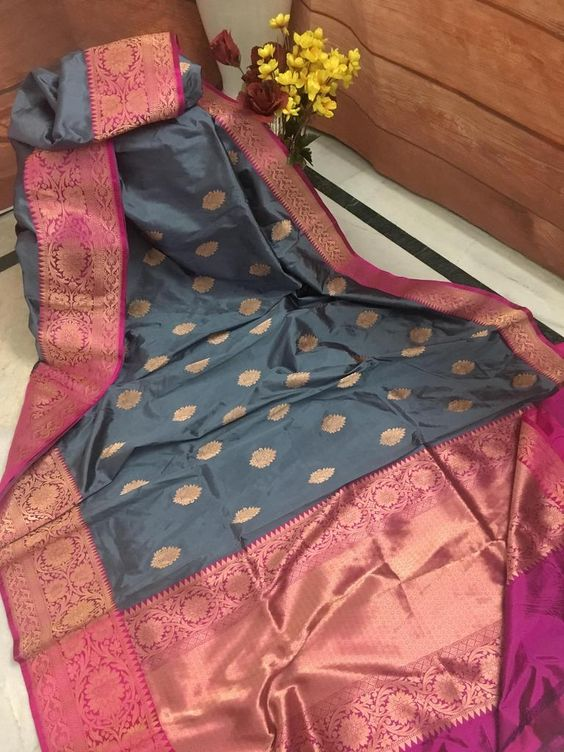 New  Best Collection Of Designer Soft Silk Saree SS8014