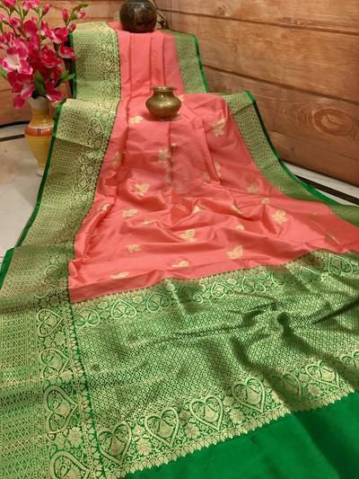 New  Best Collection Of Designer Soft Silk Saree SS8015