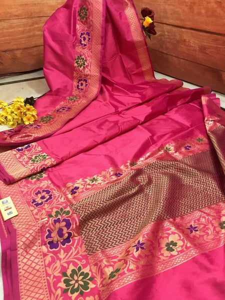 New  Best Collection Of Designer Soft Silk Saree SS8023