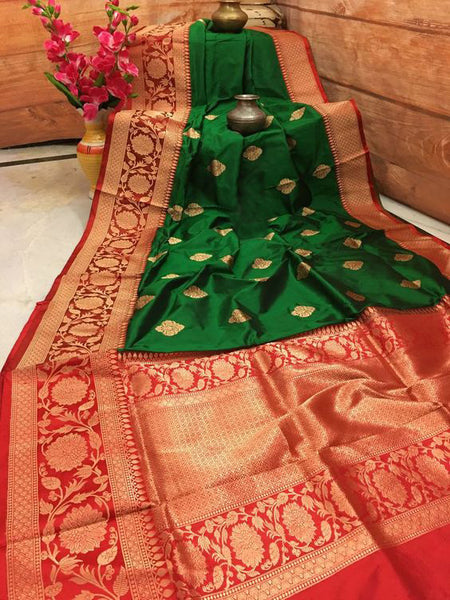 New  Best Collection Of Designer  Soft Silk Saree SS8032