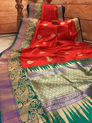 New  Best Collection Of Designer  Soft Silk Saree SS8033