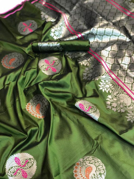 New  Best Collection Of Designer  Soft Silk Saree SS8045