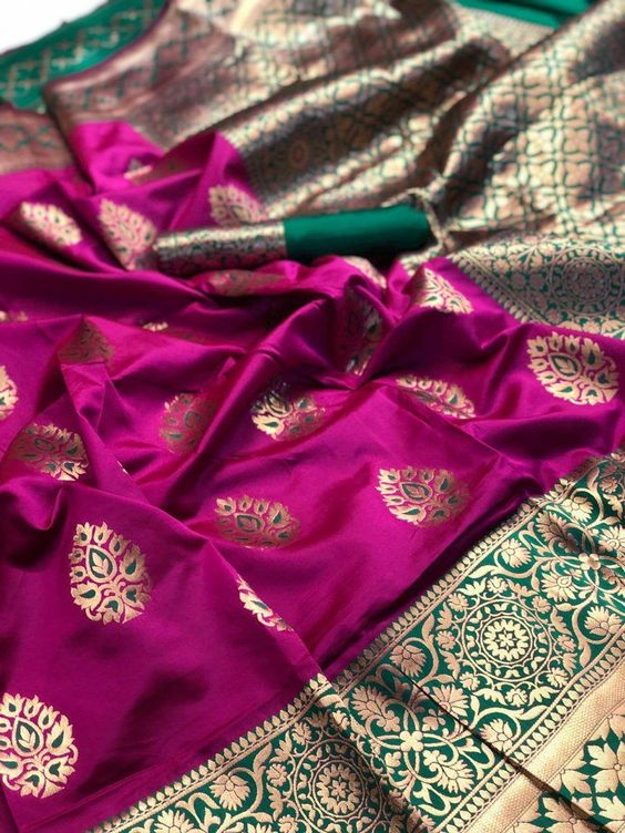 New  Best Collection Of Designer  Soft Silk Saree SS8059