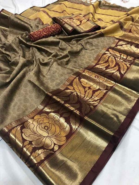 New  Best Collection Of Designer  Soft Silk Saree SS8065
