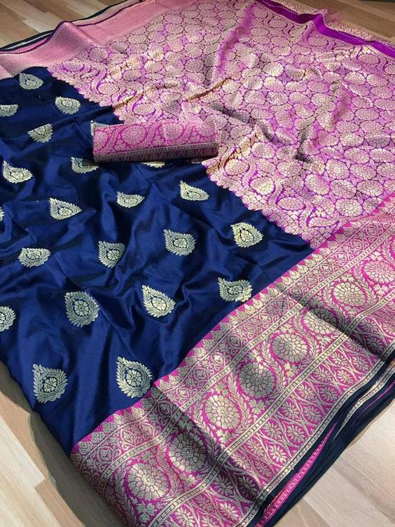 New  Best Collection Of Designer  Soft Silk Saree SS8068
