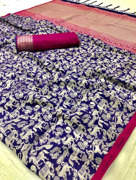 New  Best Collection Of Designer  Soft Silk Saree SS8081