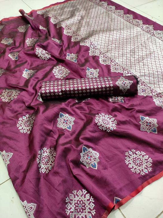 New  Best Collection Of Designer  Soft Silk Saree SS8085