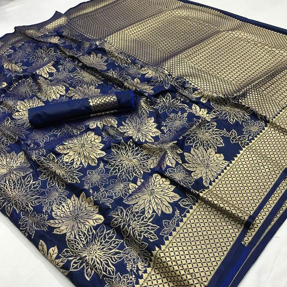 New  Best Collection Of Designer  Soft Silk Saree SS8097