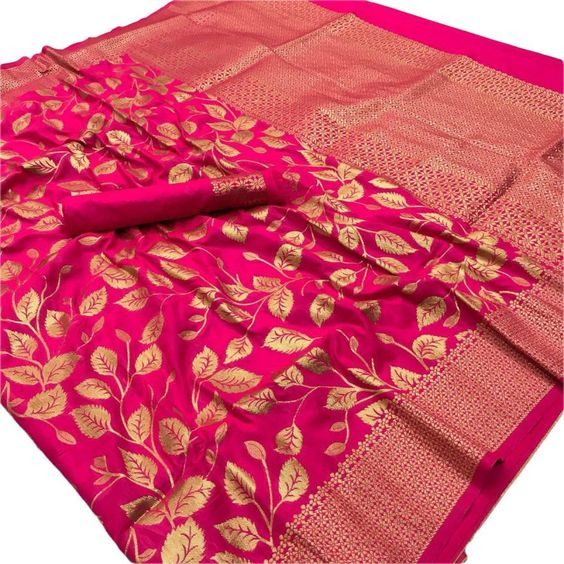 New  Best Collection Of Designer  Soft Silk Saree SS8098