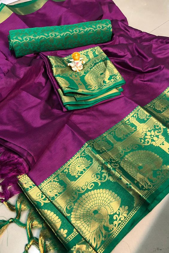 Best Collection Of Designer Soft Silk Saree SS8112