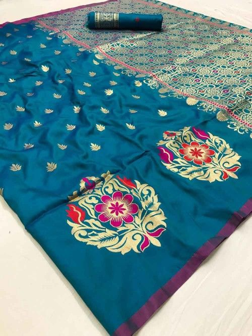 Best Collection Of Designer Soft Silk Saree SS8114