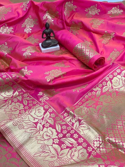 Best Collection Of Designer Soft Silk Saree SS8156