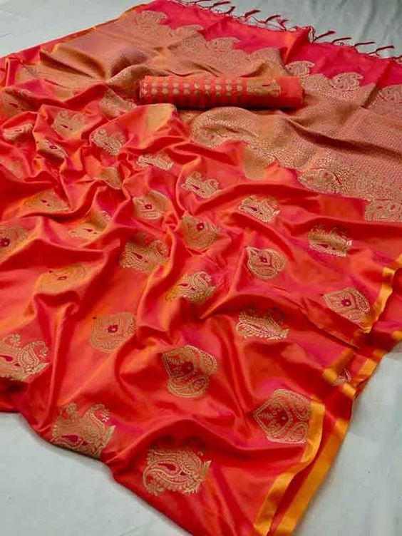 Best Collection Of Designer Soft Silk Saree SS8159
