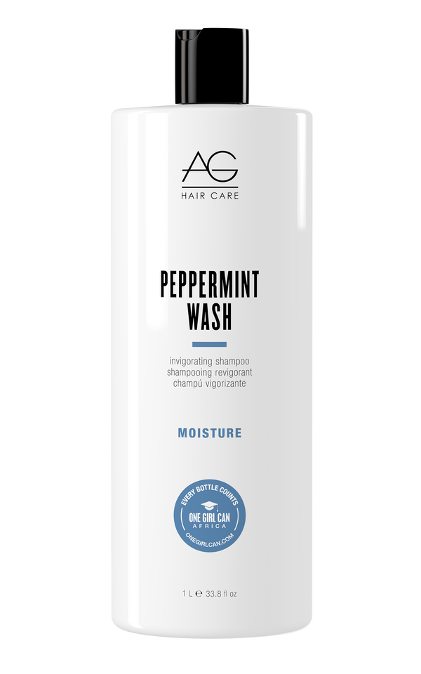 PEPPERMINT WASH INVIGORATING SHAMPOO AND BODY WASH