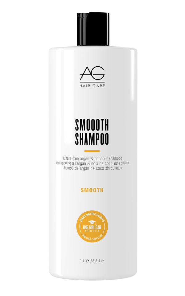 SMOOOTH SULFATE-FREE ARGAN & COCONUT SHAMPOO