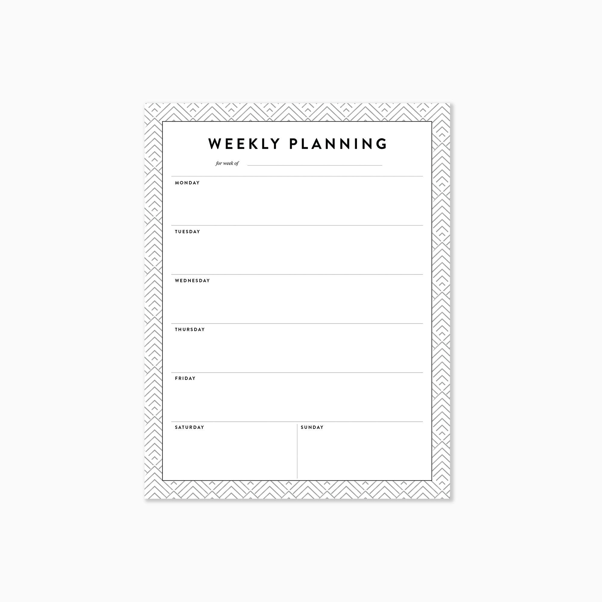 Weekly Planning Worksheets - Download - Best Year Planning