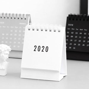 2020 Mini Minimalist Desk Calendar