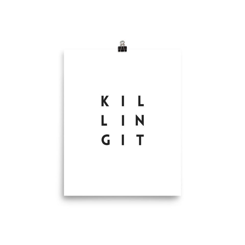 """Killing It"" - Print - Best Year Planning"