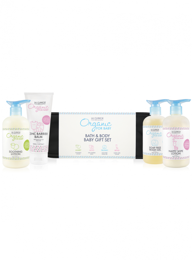 Organic for Baby Bath and Body Baby Gift Set