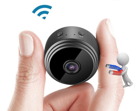Ultra Mini Size Portable IP Security Camera with Magnetic Base - ciddtechnology