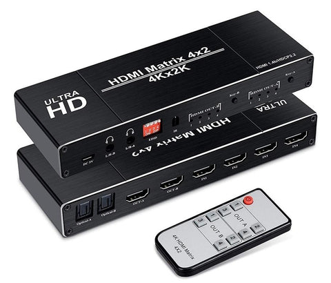 4K HDMI Matrix Switch - ciddtechnology
