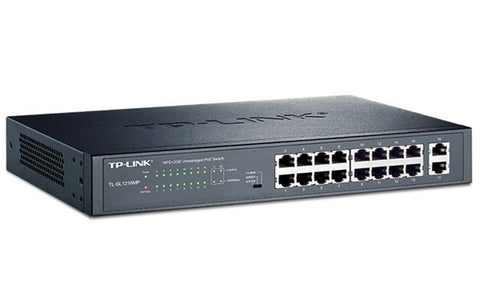 TP-LINK Fast 16 POE Port Switch - ciddtechnology