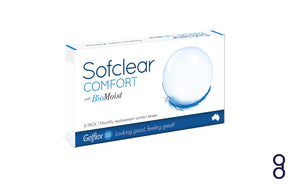 Sofclear COMFORT with BioMoist - 6pc/pack
