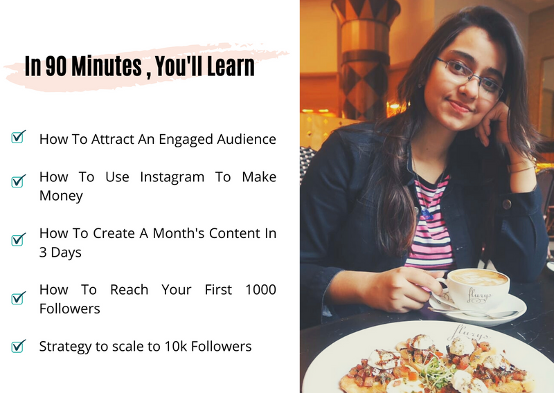 Instagram Growth Mentorship with Saheli