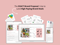 Saloni's Brand Proposal Template