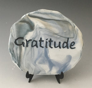 Gratitude - inspirational plaque